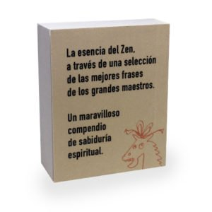 Contraportada minilibro Las mejores frases del Zen