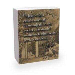 Contraportada mililibro Haiku castellano